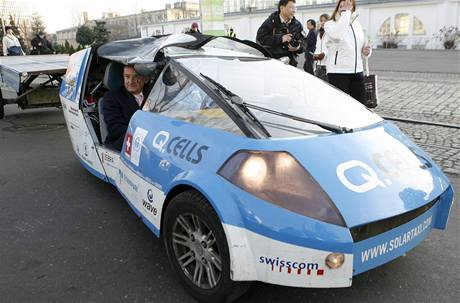 Solární automobil Louise Palmera