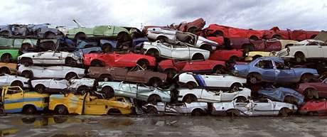 Šrotovné představuje příspěvek při nákupu nového, ekologicky šetrného vozidla výměnou za likvidaci starého vozu. Ilustrační foto