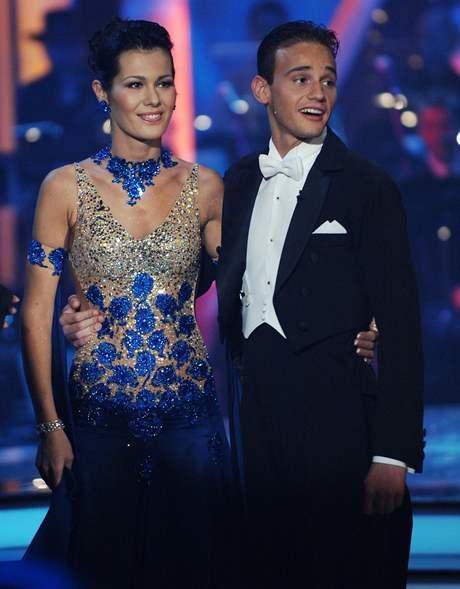 Další párem, který vypadl, byli Jana Doleželová a Michal Necpál