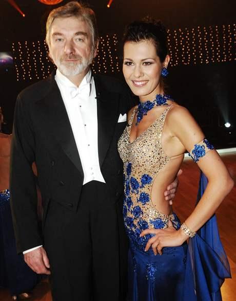 Jana Doleželová s Vladimírem Kratinou