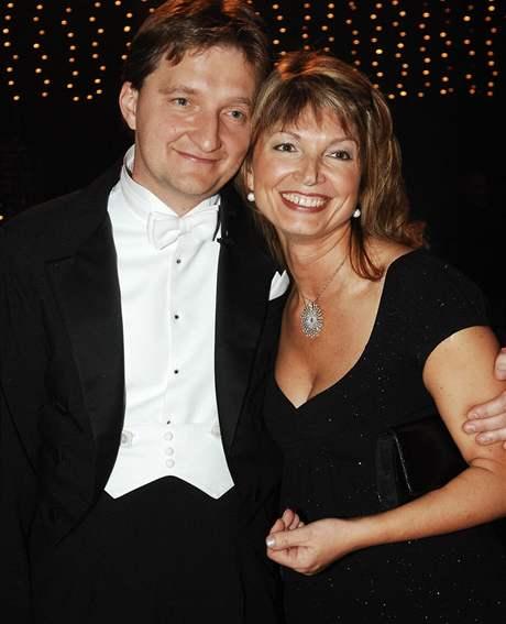 Jaromír Bosák s manželkou