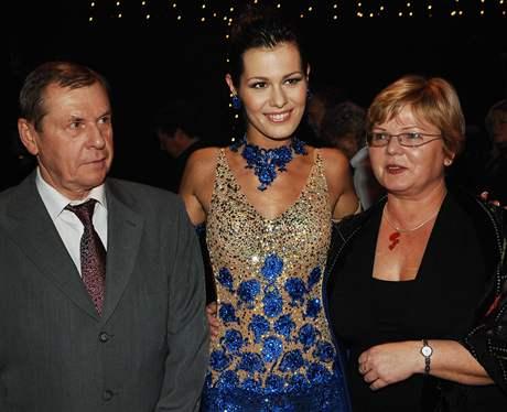 Janu Doleželovou přišla podpořit rodina
