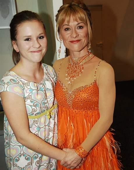 Dana Batulková s dcerou