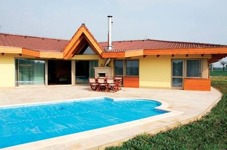 Prosluněný bungalov