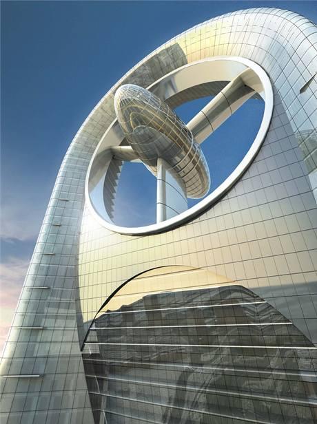 Mrakodrap Anara Tower v Dubaji