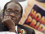 Zimbabwský prezident Robert Mugabe.