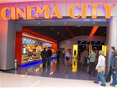 Vstup do kina Cinema City