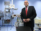 Ministr zdravotnictví Tomáš Julínek otevřel v Bně nové traumacentrum (4.12.2008)