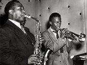 Charlie Parker a Miles Davis
