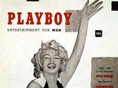 První titulní stránka časopisu Playboy