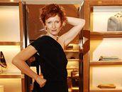 Anna Geislerová v luxusním modelu Gucci