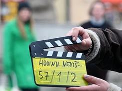 Z natáčení filmu Hodinu nevíš... režiséra Dana Svátka na motivy případu heparinového vraha Petra Zelenky