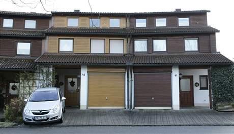 Dům policejního šéfa Aloise Mannichla, kterého pobodal skinhead.