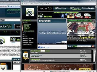 RadioIO webov� p�ehr�va�