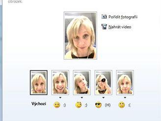 Windows Live Messenger - dynamický obrázek