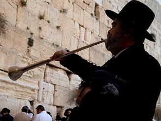 Pošta Bohu v Jeruzalémě u Zdi nářků