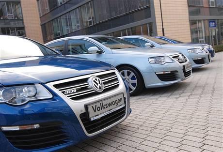 Policie přebírá VW Passat R36