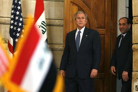 Útok na George W. Bushe v Iráku