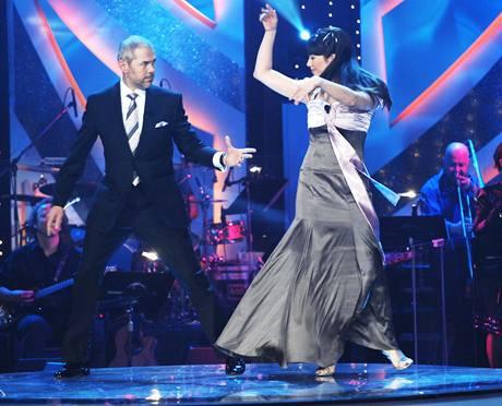 Tanec v podání Marka Ebena a Terezy Kostkové