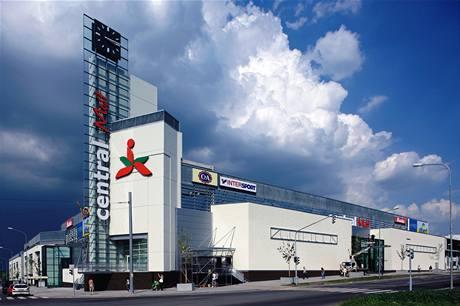 Mostecké obchodní centrum Central