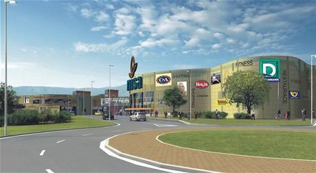 Obchodní centrum NISA v Liberci
