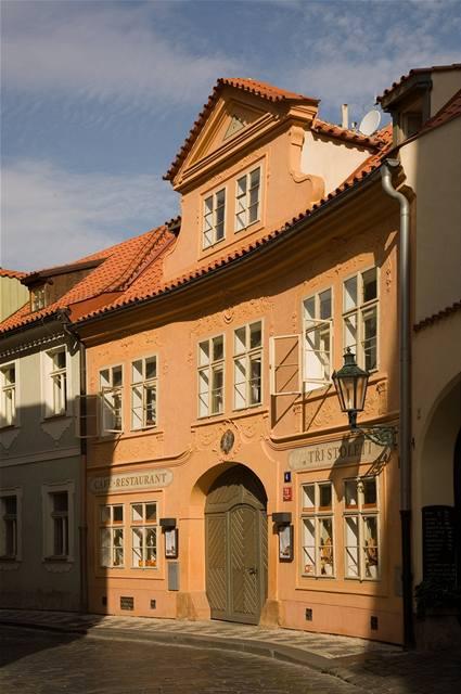 Historický dům na Malé Straně
