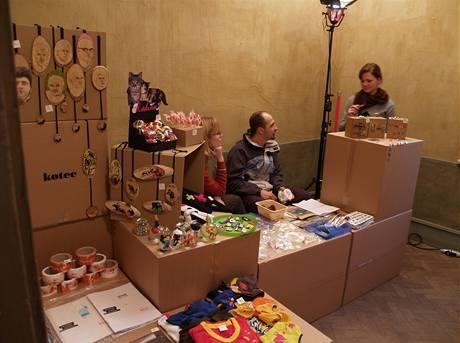 Prodejní festival mladého designu SUPERMARKET'08