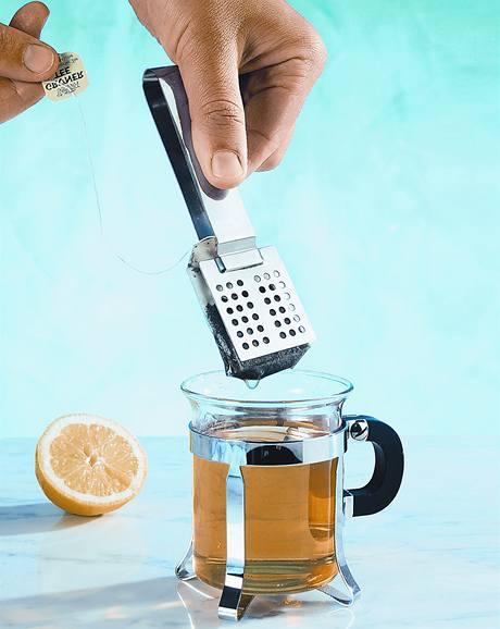 Kleštičky na čajové sáčky