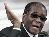 Robert Mugabe (11. prosinec 2008)