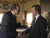 Z filmu Duel Frost/Nixon - Frank Langella a Michael Sheen