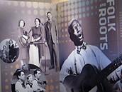 Muzeum Grammy - sekce věnovaná blues