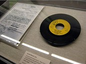 Muzeum Grammy - gramofonová deska z roku 1960