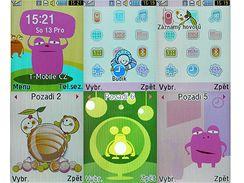 Samsung S3030 Tobi uživatelské prostředí