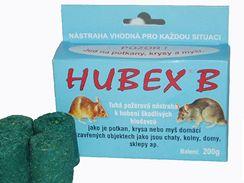 Hubex koupíte ve formě různě tvarovaných tyčinek