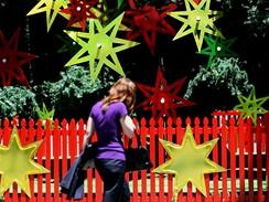Vánoční strom v australském Sydney