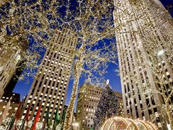 Vánoční strom v New Yorku, Rockefellerovo centrum