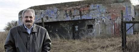 Vojenský bunkr Výběžek v Hevlíně je na prodej