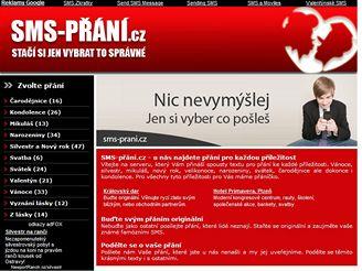 SMS-prani.cz