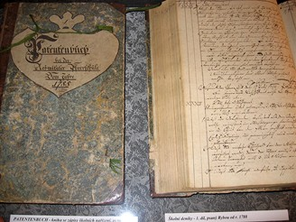 Rybovy deníky v rožmitálském muzeu