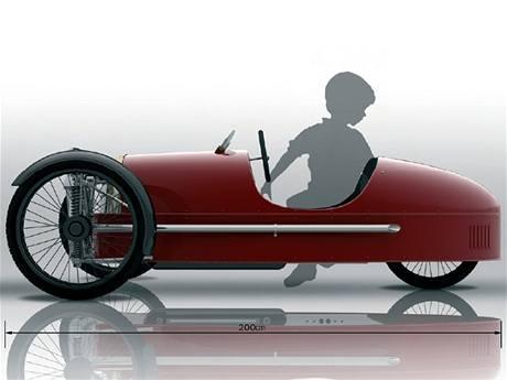 Morgan SuperSport Junior pedal car