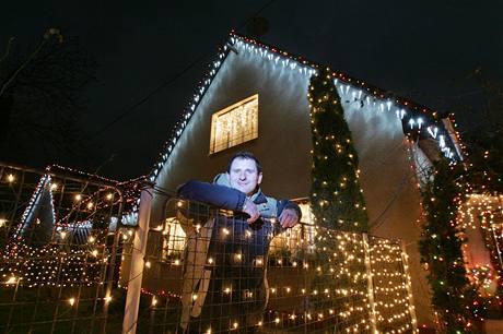 Vánoční výzdoba rodinných domů