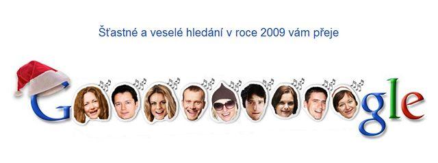Google.cz přeje pěkné Vánoce