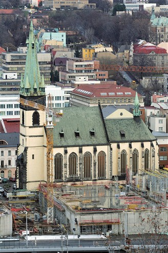 Gotický kostel Nanebevzetí Panny Marie v Ústí nad Labem