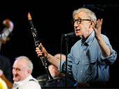 Woody Allen na pražském koncertě (20.12.2008)