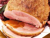 Šunka v chlebové krustě