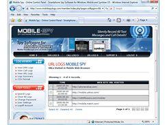 Sledovací software Mobile-Spy