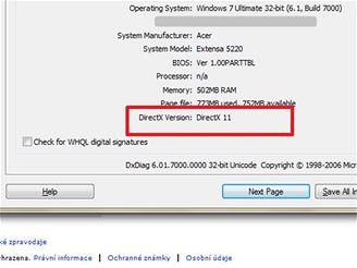 Windows 7 - DirectX 11