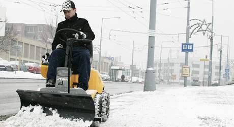 Sníh v Brně