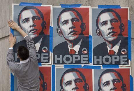 Shepard Fairey: Barack Obama - Nad�je
