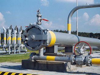 Zásobník zemního plynu Háje - vstup pro ježky